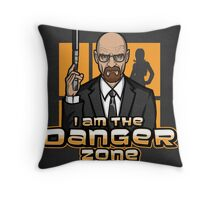 I am The Danger Zone - Print Throw Pillow