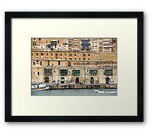 Malta 24 Framed Print