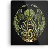 Cthulhu Exterminates - Print Metal Print