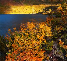 Autumn at Lake Oenone by Kevin McGennan