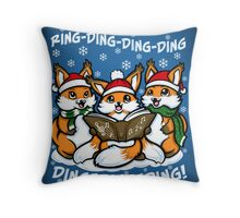 What does the Fox Sing - Print Throw Pillow
