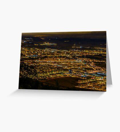 Pamplona city Greeting Card
