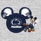 Mickey Mouse Penn State fan by sweetsisters