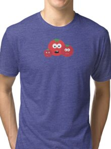 Three Tomatos Tri-blend T-Shirt
