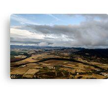 Navarra's valley Canvas Print