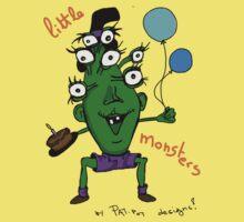 Little monster [birthday] One Piece - Short Sleeve