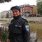 A Police woman in Sarajevo by rasim1