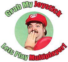 SexyMario - Grab My Joystick Graphic by SexyMario