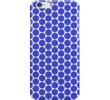 Blue Polka Dot (King of the Mountains) iPhone Case/Skin