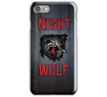 Scary Night Wolf iPhone Case/Skin