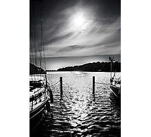 Danish Sunset (B&W) Photographic Print
