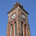 Town Hall Clock - Newbury by Samantha Higgs