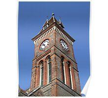 Town Hall Clock - Newbury Poster
