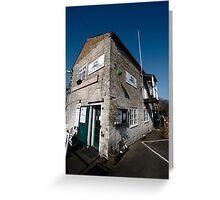 Tha Cafe by the Canal - Newbury Greeting Card
