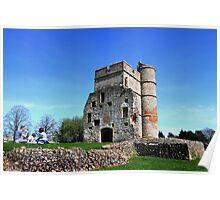 Picnic at Donnington Castle Poster