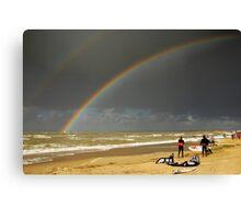 Rainbow... Canvas Print