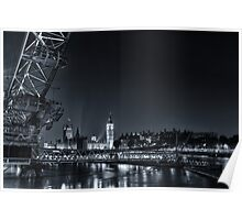 London at Night Poster