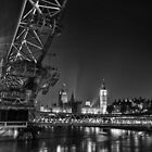 London Cityscape by Ian Hufton