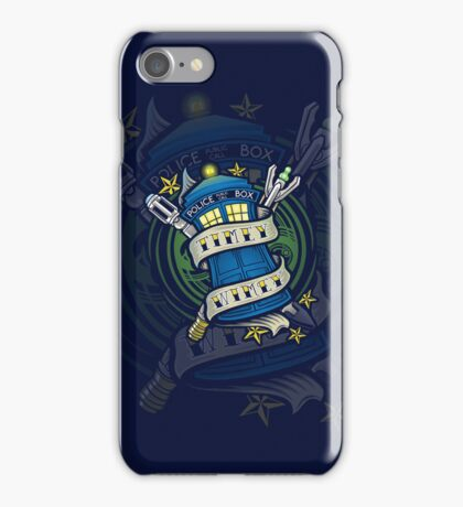 Timey Wimey - Iphone Case #1 iPhone Case/Skin