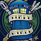 Timey Wimey - Iphone Case #2 by TrulyEpic