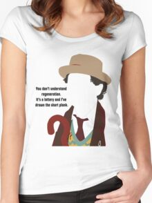 Seven Women's Fitted Scoop T-Shirt
