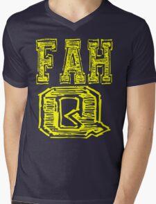 Fah Q Mens V-Neck T-Shirt
