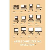My Evolution Apple mac minimal poster Photographic Print