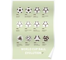My Evolution Soccer Ball minimal poster Poster