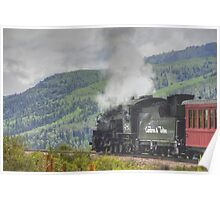 Steam across New Mexico Poster