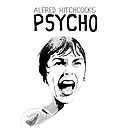 Psycho - Alfred Hitchcock by burrotees