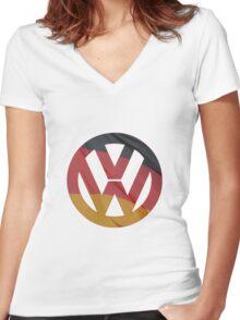 VW GTA Women's Fitted V-Neck T-Shirt