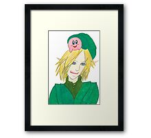 The Kirby Surprise Framed Print