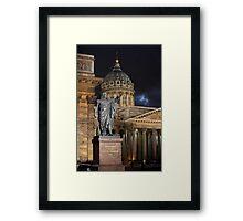 monument military leader Framed Print