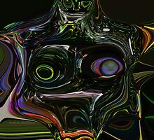 Glass Torso by Kathie  Chicoine