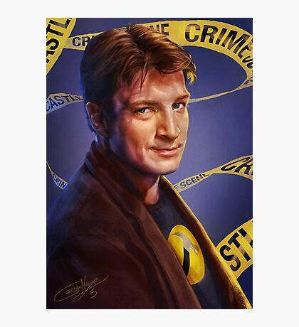 Nathan Fillion Photographic Print