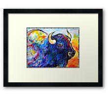 Buffalo, Dying Breed Framed Print