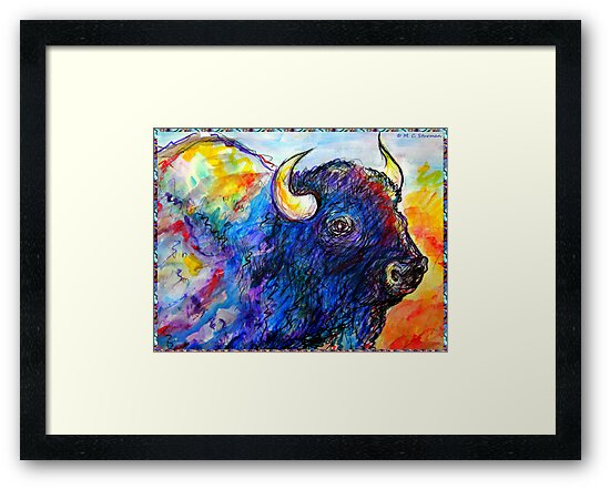 Buffalo, Dying Breed by M C  Sturman