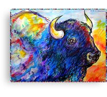 Buffalo, Dying Breed Canvas Print