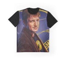 Nathan Fillion Graphic T-Shirt