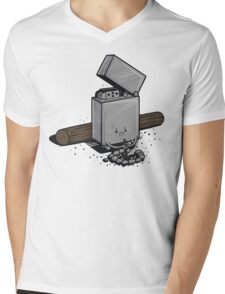 Out of fuel Mens V-Neck T-Shirt