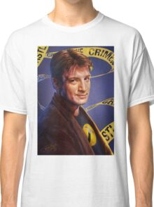 Nathan Fillion Classic T-Shirt