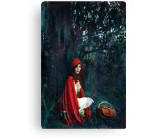 In the Deep Dark Woods Canvas Print