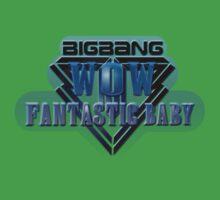 Bigbang - Wow Fantastic Baby One Piece - Short Sleeve