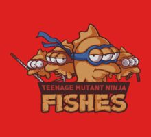 Teenage mutant ninja fishes One Piece - Short Sleeve