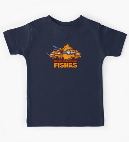 Teenage mutant ninja fishes Kids Tee