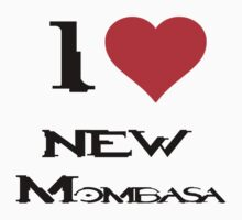 Halo-I heart new Mombasa Kids Tee