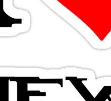 Halo-I heart new Mombasa Sticker