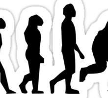 Hockey Evolution Sticker