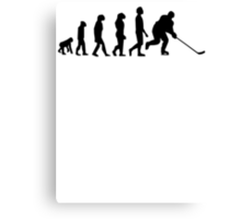 Hockey Evolution Canvas Print