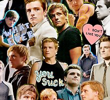 Peeta Mellark Collage by davelizewski
